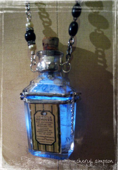 Illuminated-bottle
