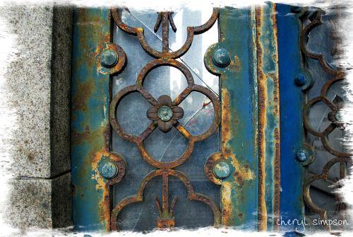 Blue-crypt-door
