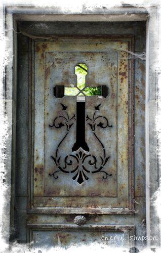 Crypt-door-with-Cross