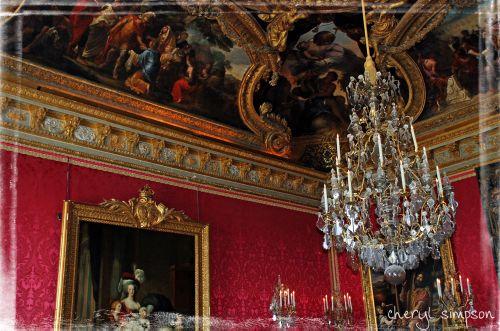 Versailles-Red-Bedroom