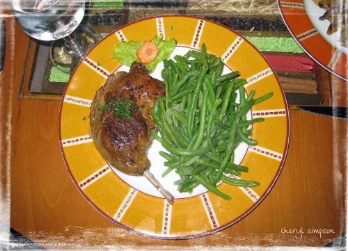 Duck-Confit-and-green-beans