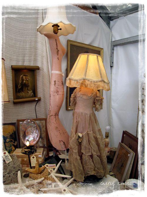 Leg-lamp