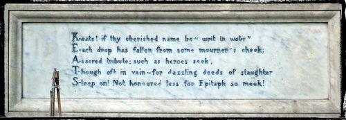 Keats-epitaph