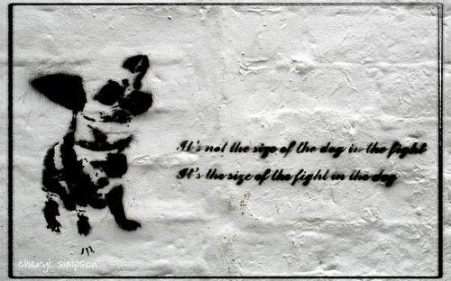 Blinkie-stencil-art