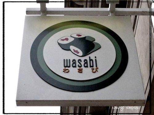 Wasabi-sign