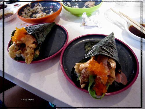 Handroll-sushi