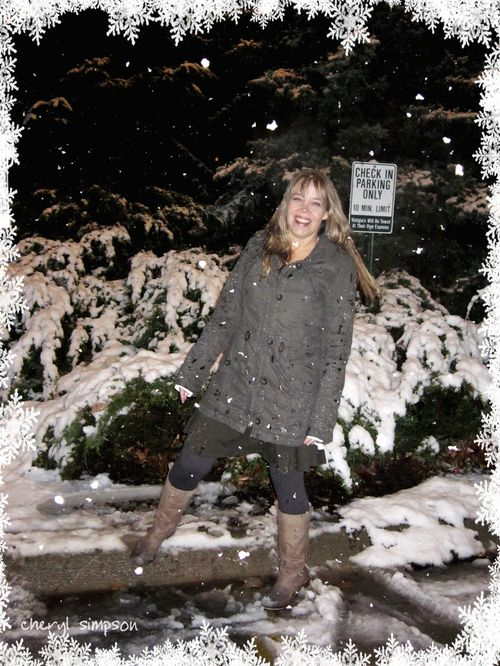Sally-in-the-snow