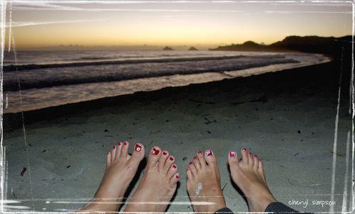 Sunrise-Toes
