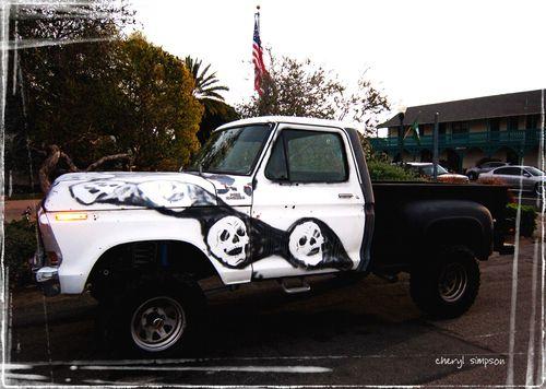 Skull-truck