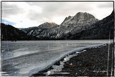 Ice-shore