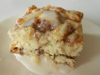 Cinnabon cake